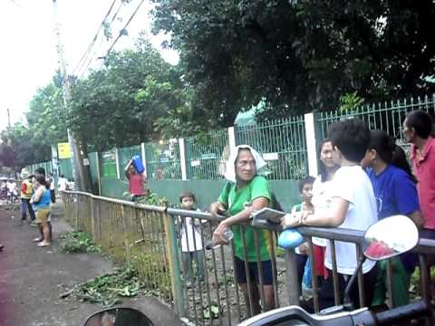 DYHP Bong Lauron interview (Acacia tree accident at Sikatuna St.)