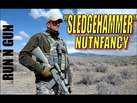 """Sledgehammer"" RunNGun Intro Pt 3: Nutnfancy Testing Drill"