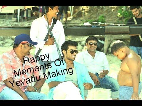 Yevadu-Movie-Making