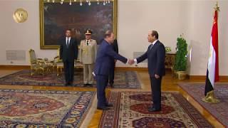 الرئيس السيسي يشهد أداء حلف اليمين لرئيس