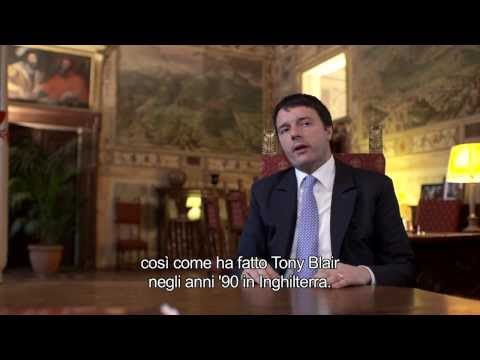 Exclusive: GIAC interviews Matteo Renzi sub ITA