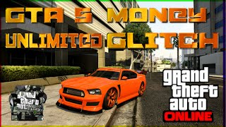"GTA 5 Online SOLO UNLIMITED MONEY GLITCH"" After Patch 1"