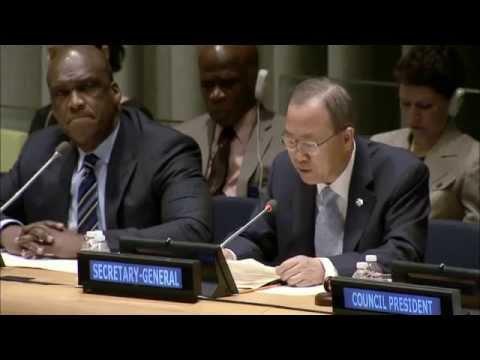 Ban Ki-moon: Final Push Towards Millennium Development Goals