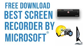 Best Microsoft Screen Recorder For Free Full HD