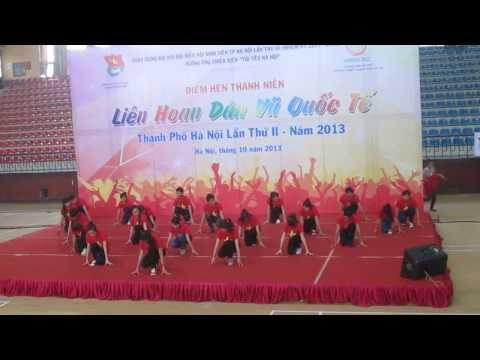 [CLB SSC-VYA] nhảy Việt Nam ơi Liên hoan dân vũ quốc tế Thành Phố Hà Nội lần II