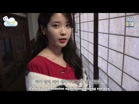 [Vietsub] IU TV '밤편지(Through the Night)' M/V Making