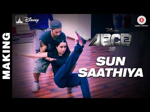 Making of Sun Saathiya - Disney's ABCD 2   Varun Dhawan - Shraddha Kapoor   Sachin - Jigar