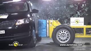 Skoda Rapid kaza testi - Euro NCAP 2012