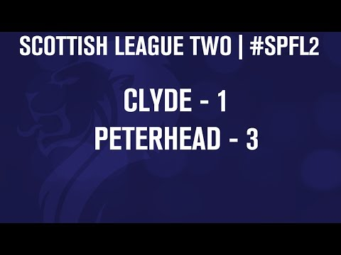 #SPFL League Two | Clyde 1-3 Peterhead | 07/12/13