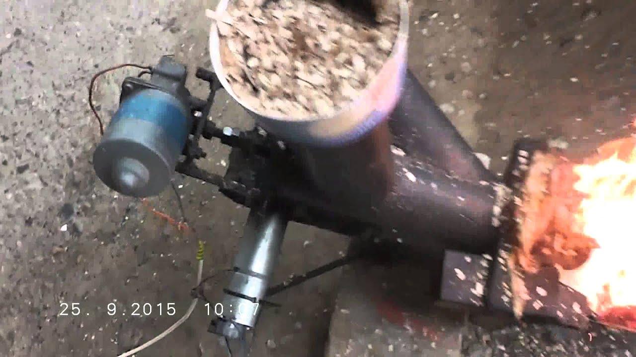 Самодельная горелка под пеллеты, опилки