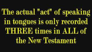 SPEAKING IN TONGUES The Absolute Bible Truth The Word