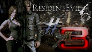 Resident Evil 6 Detonado (Walkthrough) Leon Parte 3 HD