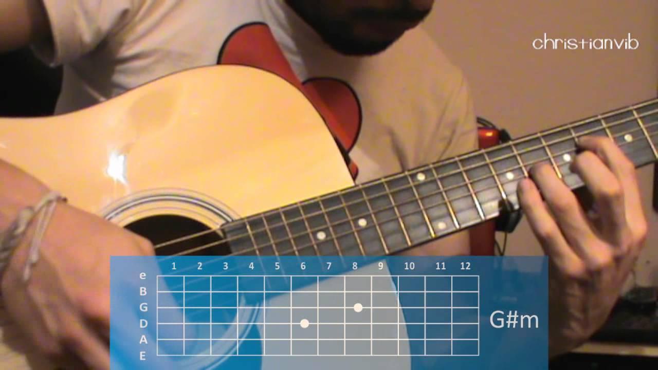 Como tocar Me voy en Guitarra Jesse & Joy (HD) Tutorial ...