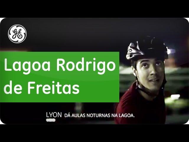 Projeto de iluminação Lagoa Rodrigo de Freitas - GE do Brasil
