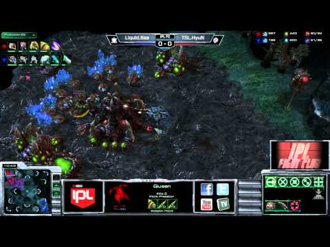 Sea vs HyuN - Game 1 - IPL Fight Club - StarCraft 2