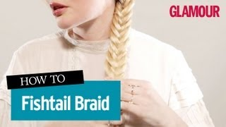 [Hair Tutorial Fishtail Braid- How To Do A Fishtail Braid In ...]