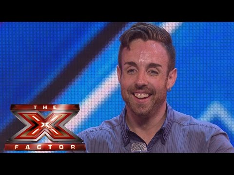 Stevi Ritchie sings Queen's Dont Stop Me Now | Arena Auditions Wk 1 | The X Factor UK 2014