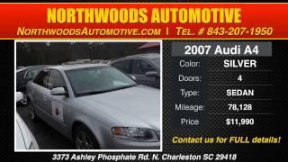[For Sale Audi 4 Door North Charleston SC | Northwoods Automotive] Video