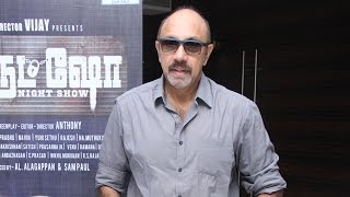 Sathyaraj shares about Night show