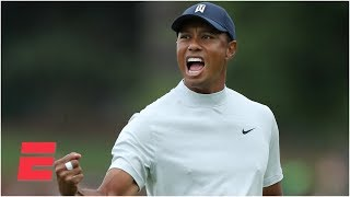 Tiger Woods just one stroke off the lead after wild second round | The Masters
