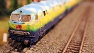 Die wunderschöne Modelleisenbahn vom Bahnbetriebswerk Hessen in Spur H0