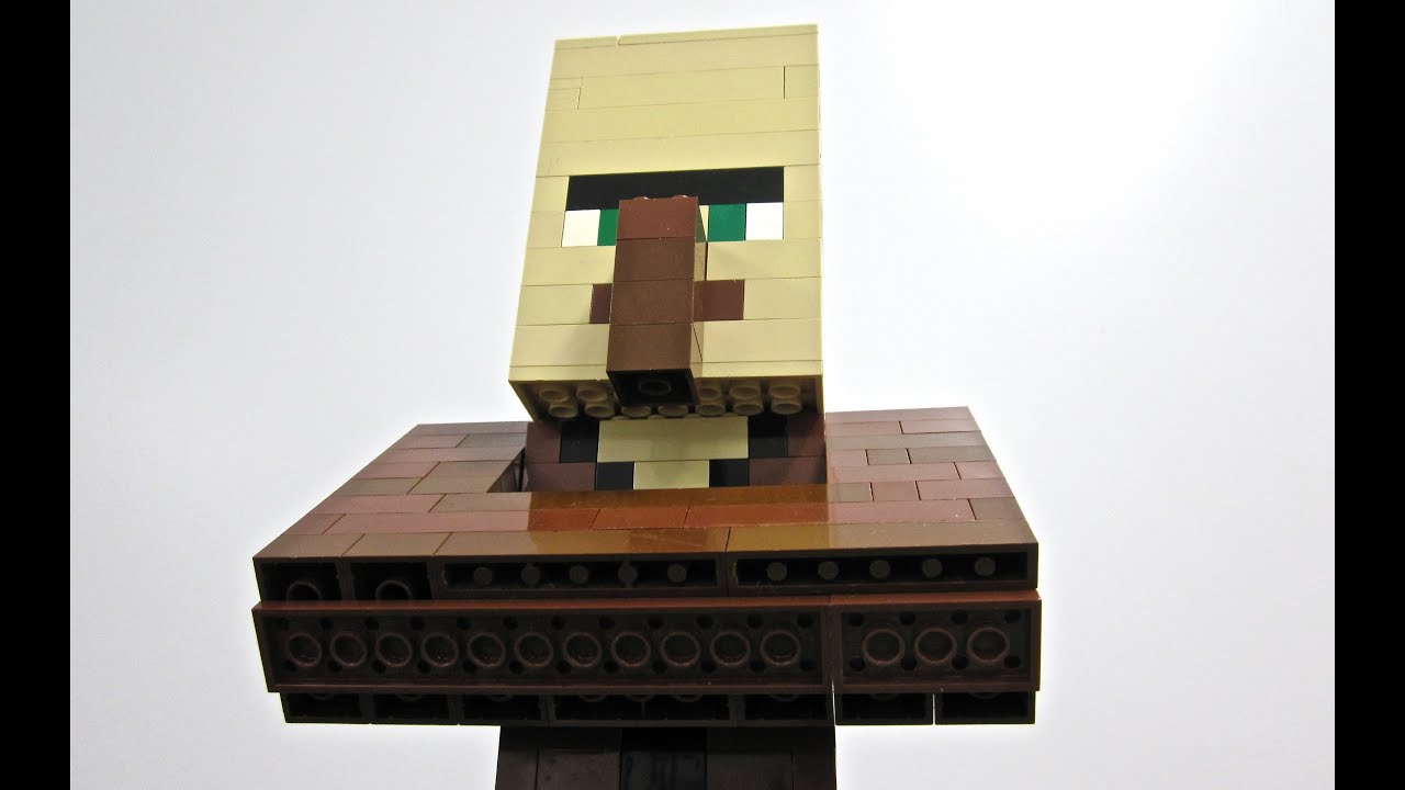 Minecraft Real Life Villager Lego villager - minecraft