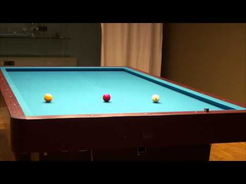 Carom Billard Tutorial (free game, one cushion, three cushion)