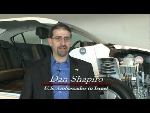 Ambassador Shapiro Charged with Electric Driving