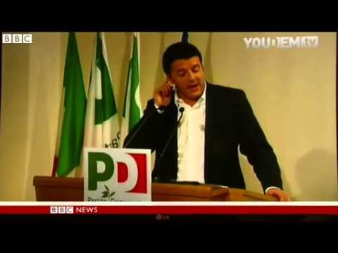 BBC News   Italian PM Enrico Letta to tender resignation