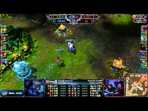 LoL IEM Cologne Fnatic vs CJE [Game 1]
