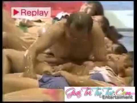 [Video Được Quan Tâm Nhất] Game Show 18+ Nhật Bản - Trượt trên các người đẹp Bikini