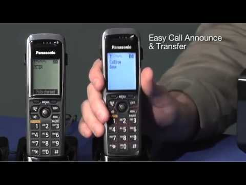 Panasonic SIP Cordless Telephones