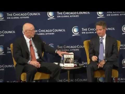 """Reflections on Financial Crises"" with Timothy Geithner, former US Treasury Secretary"