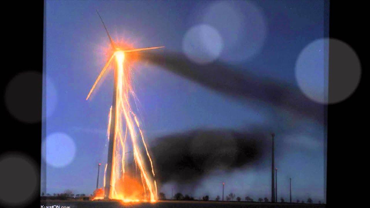Wind Turbine Failure - YouTube