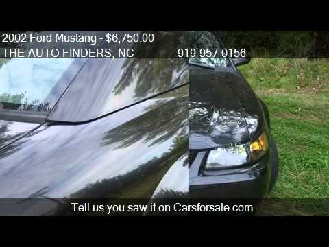 2002 Ford Mustang Base 2dr Coupe for sale in DURHAM, NC 2770