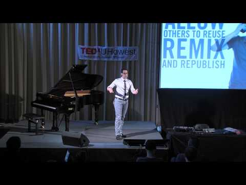 Earning money by giving away: Sebastiaan Ter Burg at TEDxUHowest