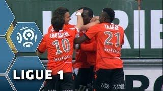Goal Jérémie ALIADIERE (5') - FC Lorient-Evian TG FC (1-1) - 05/04/14 - (FCL-ETG)