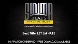 LET EM HATE Instrumental (East Coast Rap Beat) By SINIMA