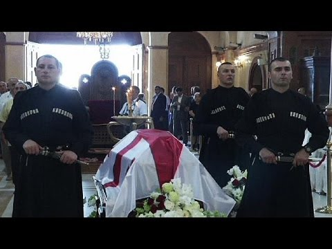 EduardShevardnadzeis buried in his native Georgia