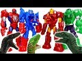 Thanos Dinosaurs Attack Avengers Defeat Dinosaurs With Mech Armors ToyMart TV