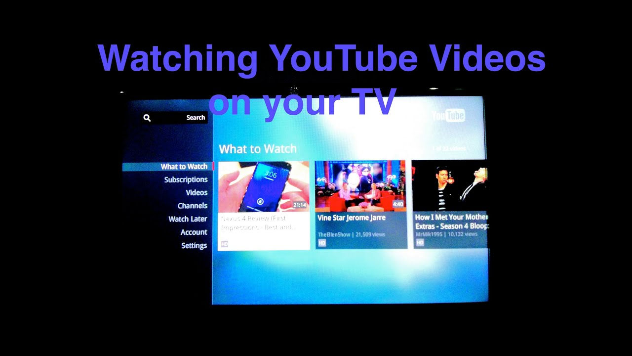 Www youtube com playing youtube videos on smart tv through computer