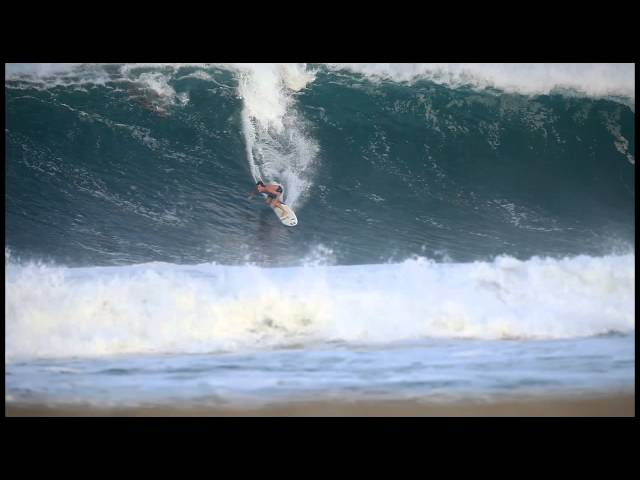 Greg Long at Puerto Escondido - 2014 Ride of the Year Entry - Billabong XXL Big Wave Awards