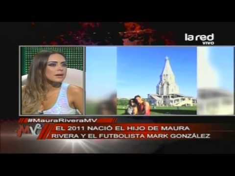 Maura Rivera se fue a vivir a Rusia el 2010 junto a Mark González