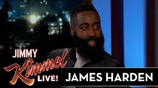 James Harden on Kobe Bryant