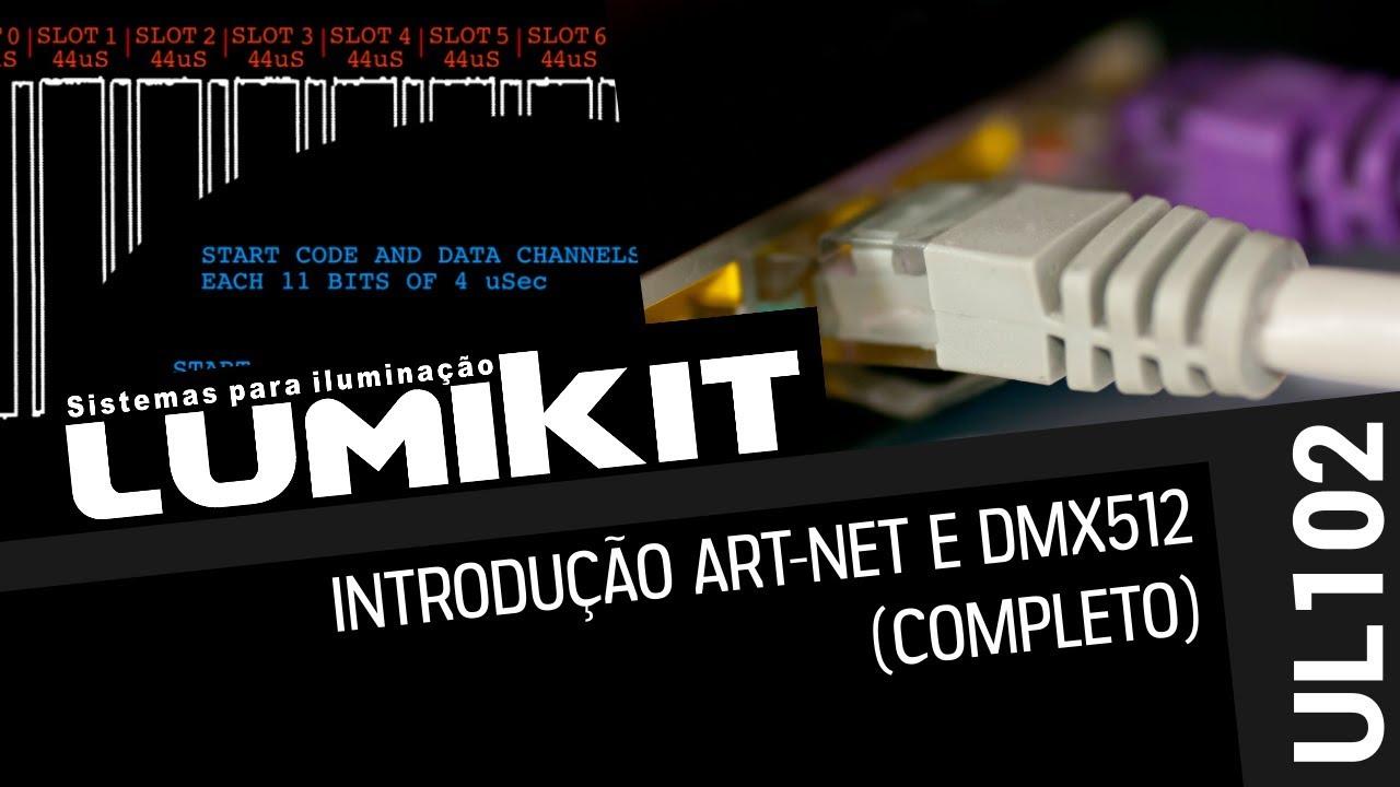 Introdução ao DMX512 e Art-Net