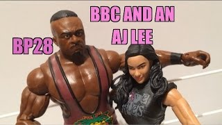 WWE ACTION INSIDER: Big E And AJ Battle Pack Series 28