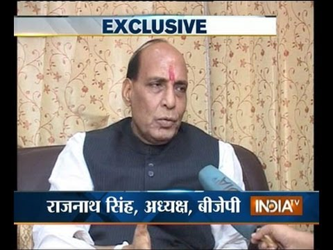 Faisla kursi ka 27/3/2014: Rajnath Singh speaks exclusively with India TV