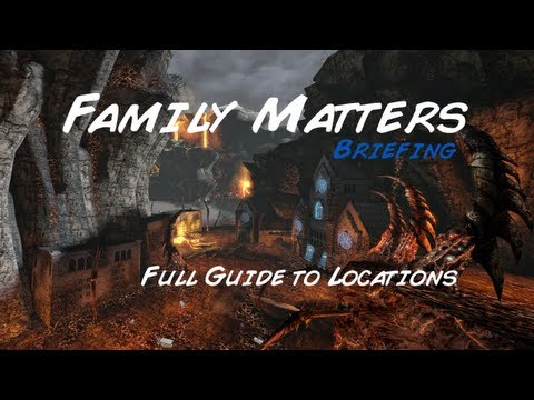 DCUO: Family Matters Briefing (Full Locations Guide)