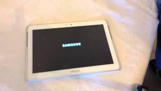Ripristino Samsung Galaxy Tab 2 10.1 Formattazione Hard