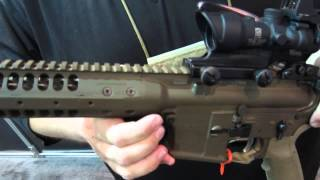 LWRC IC or SPR http://www.youtube.com/all_comments?v=0pnoQVWFiVo